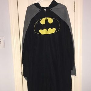 Batman Onesie with Cape and Mask Hood